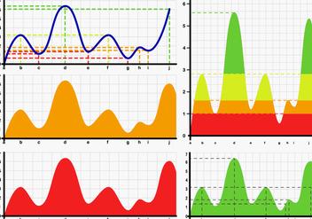 Bell Curve Chart Vectors - Free vector #363859