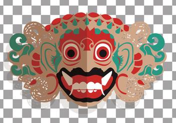 Barong Bali Vector - бесплатный vector #363909