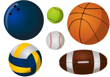 Balls Vector Pack - бесплатный vector #363919