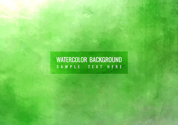 Free Vector Watercolor Background - бесплатный vector #364609