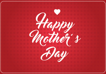 Mother's Day Background - vector #364679 gratis