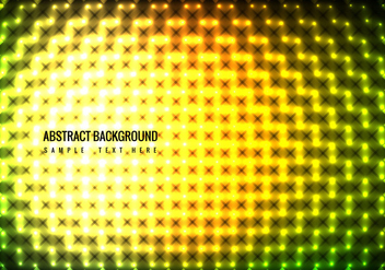 Vector Colorful Lights Background - Kostenloses vector #365019