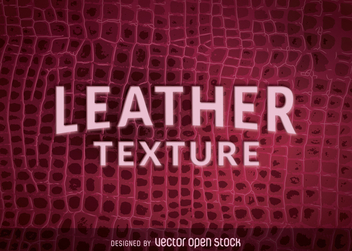 Natural crocodile leather texture - Kostenloses vector #365219