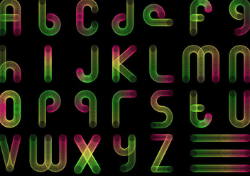 Free Slinky Font Vector - Free vector #365339