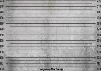 Vector Grunge Mugshot Background - vector #365379 gratis