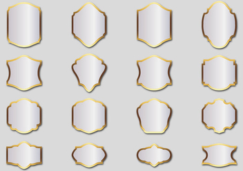 Free Silver Frames Vector - vector #365729 gratis