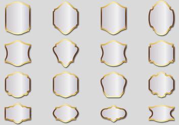 Free Silver Frames Vector - Kostenloses vector #365729
