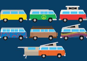 VW Camper Vector - Free vector #366369