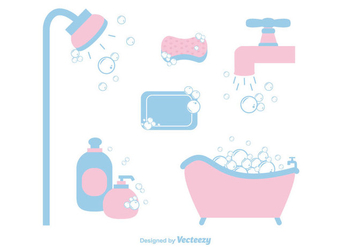 Free Soap Suds Vector - Free vector #366419