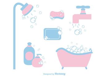 Free Soap Suds Vector - Kostenloses vector #366419