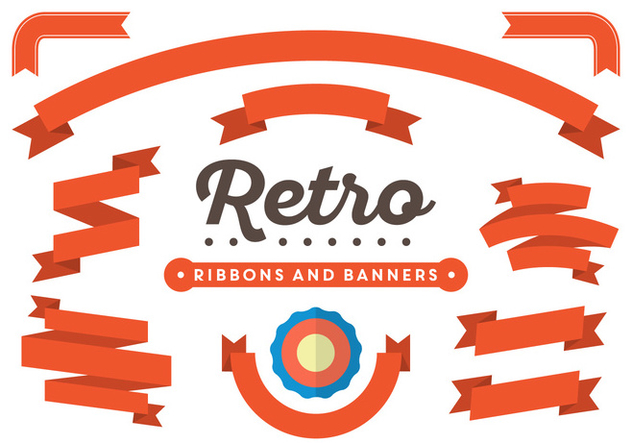 Vector Ribbons - vector gratuit #366689