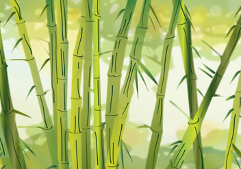 Hijau Bamboo - Free vector #366889