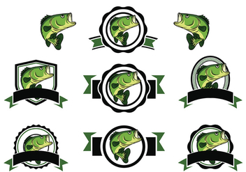 Free Bass Fish Vector - бесплатный vector #367729
