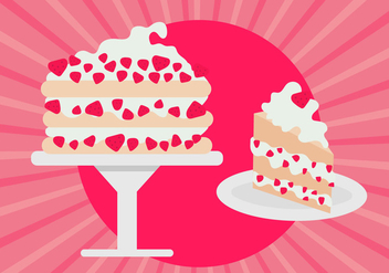 Strawberry Shortcake Free Vector - vector gratuit #367989