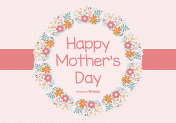 Happy Mother's Day Illustration - vector #368139 gratis