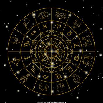 Zodiac signs symbols - Kostenloses vector #368509