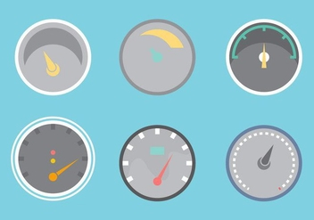 Free Tachometer Vector Graphic 2 - бесплатный vector #368679