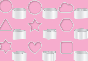 Cookie Cutters - vector gratuit #368889
