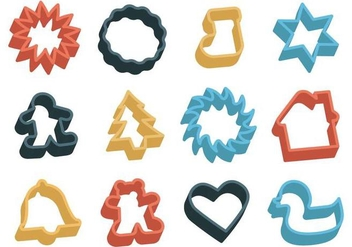 Free Cookie Cutter Vector - Free vector #369089