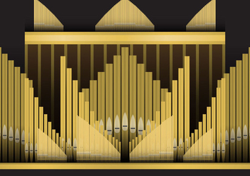 Pipe Organ - vector #369689 gratis