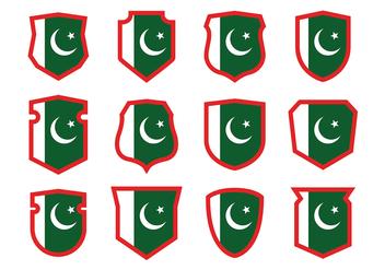Pakistan Flag Vector - Free vector #369919