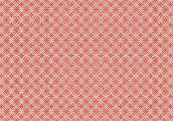 Floral Circle Pattern - Free vector #370189