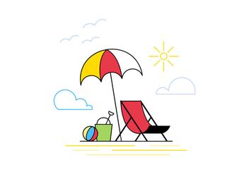 Free Beach Vector - бесплатный vector #370429
