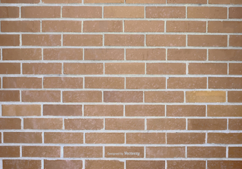 Brick Wall Vector Background - Kostenloses vector #370479