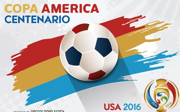 Copa America Centenario banner - vector #370659 gratis