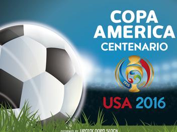Copa America Centenario banner - Free vector #370689