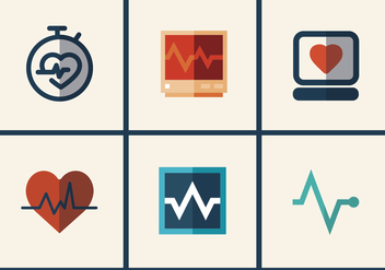 Heart Monitor Vector Pack 2 - Free vector #371769