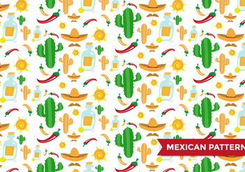 Mexican Pattern Vector - Free vector #371859