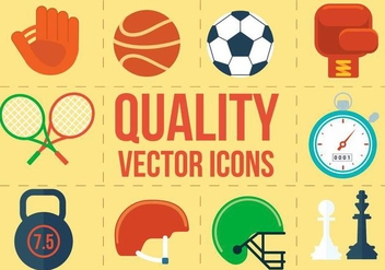 Free Vector Sport Icons - Free vector #371899