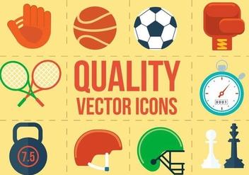 Free Vector Sport Icons - Kostenloses vector #371899