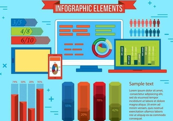 Free Infographic Vector Illustration - бесплатный vector #372049
