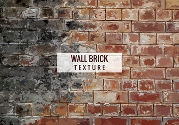 Free Vector Brick Texture Background - Free vector #372499