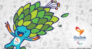 Rio 2016 mascot Tom banner - бесплатный vector #372509