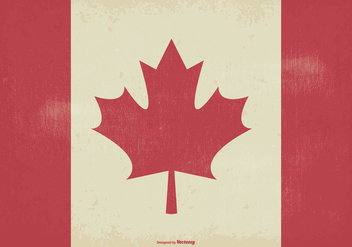 Old Style Canada Flag - Kostenloses vector #372699