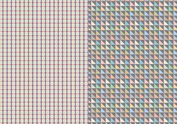 Decorative Geometric Pattern - Free vector #373309