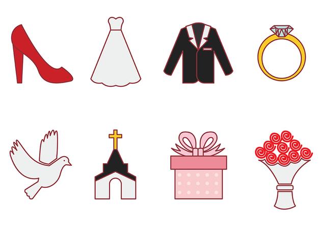 Casamento Vector Icon - vector #373459 gratis