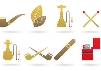 Tobacco Logo Vectors - Free vector #373699
