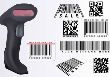 Barcode Scanner - Free vector #373849