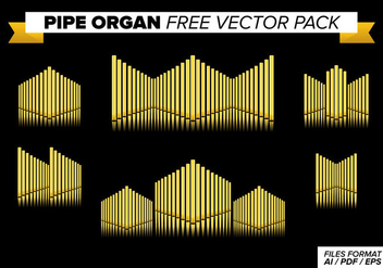 Pipe Organ Free Vector Pack - Kostenloses vector #373869