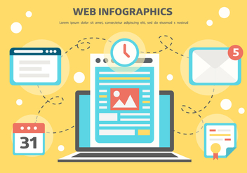 Free Web Vector Infographics - Free vector #374239