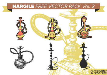 Nargile Free Vector Pack Vol. 2 - vector #374359 gratis