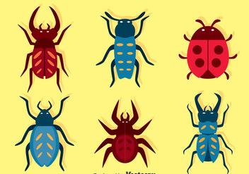 Bugs Set Vector - vector gratuit #374389