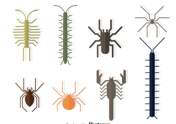 Bugs Collection Vector - Free vector #374469