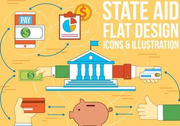 Free State Aid Vector - Free vector #375179