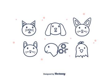 Pets Vector - Kostenloses vector #375389