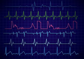 Heart Monitor Vector - Free vector #375669